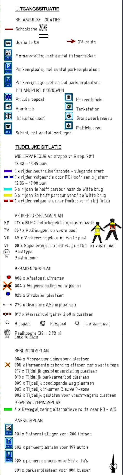 Tvm 04 Draaiboek Evenementen draaiboek 4e etappe tour 2011