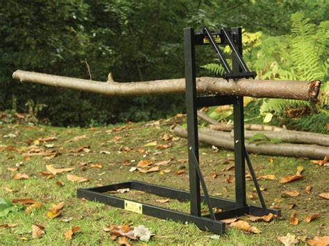 log cutting bench roughneck folding saw horse chainsaw stand for logging and