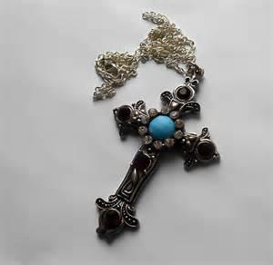 buffy earrings cross necklace necklace cross jewelry by kingsfieldinn