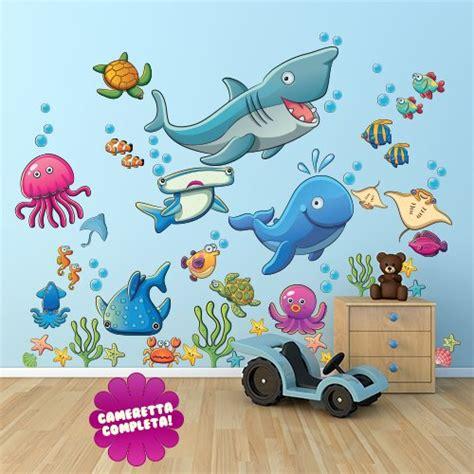 3d Wall Art Stickers adesivo murale per bambini wall art quot il mondo degli abissi