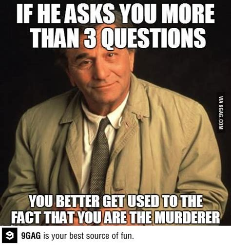 One More Thing Meme - columbo sip advisor