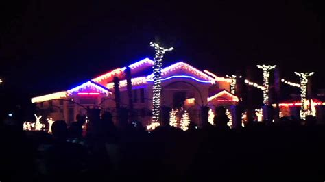 2011 fred loya christmas light show el paso tx youtube