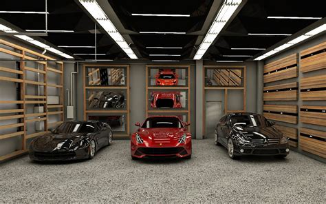 Interieur Garage Design by Showroom Garage Residential Project Actdesign By
