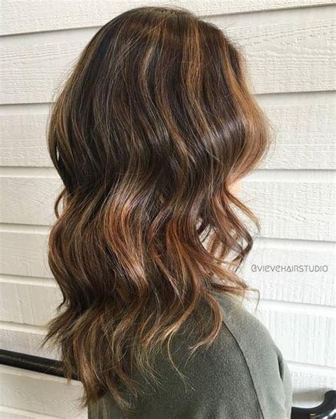 Brown With Light Brown Highlights by 40 Of The Best Bronde Hair Options
