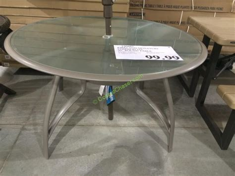 Costco Patio Table Costco Patio Table Kirkland Signature 50 Inch Patio Table Agio International 7 Sling Dining