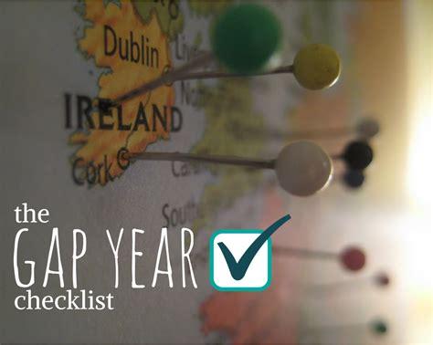 The Gap Year Checklist   Caroline in the City Travel Blog