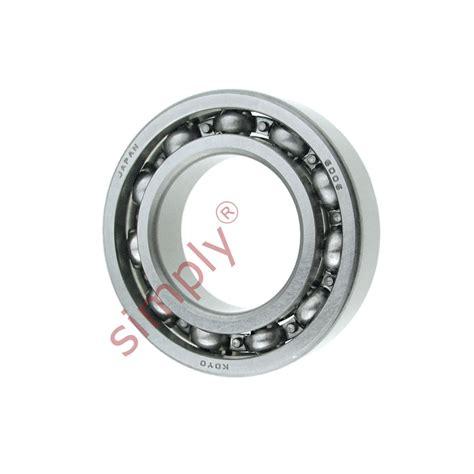 Bearing 6006 Z Koyo koyo 6006 open groove bearing 30x55x13mm simply bearings ltd