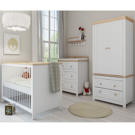 White Nursery Furniture Set Endearing Baby Bedroom Furniture Sets Ikea Ideas Expressing Surprising White Wooden Crib Beside