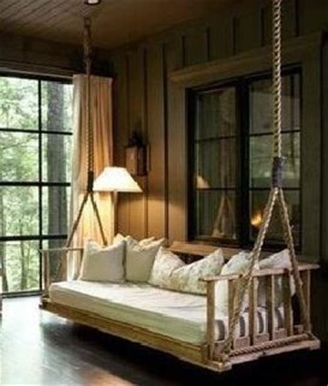 indoor swing bed best 25 screened porches ideas on pinterest screened