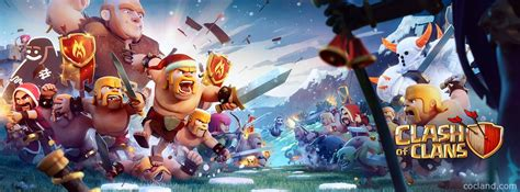 wallpaper laptop clash of clans clash of clans wallpaper free large images