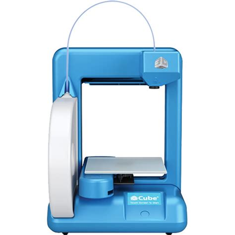 Printer 3d Cube used 3d systems cube 3d printer 2nd blue 385000 b h