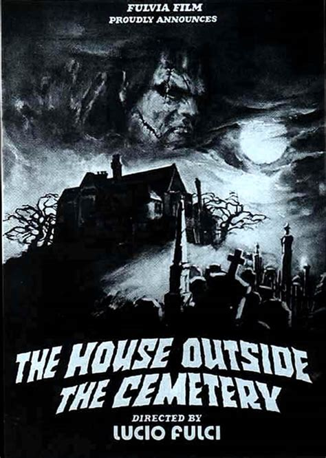 the house by the cemetery the house by the cemetery giallo b movie posters