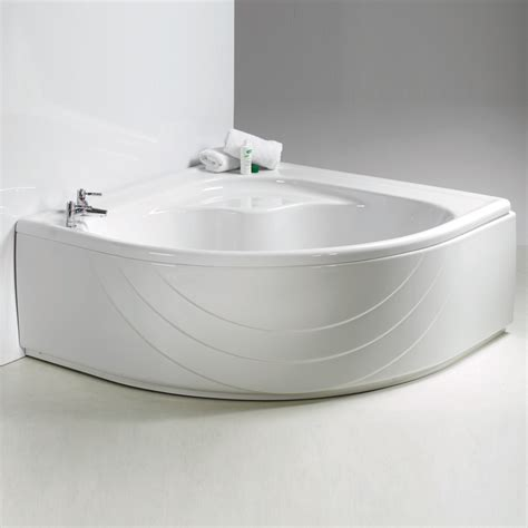 bathtub supply plexicor orchidea corner bath and panel 1400 x 1400mm plexicor from amazing