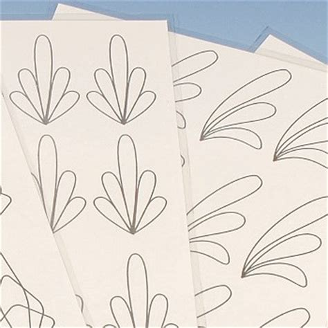 Decoration Templates by Chocolate Decoration Tracing Templates