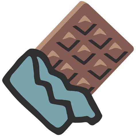 chocolate emoji file emoji u1f36b svg wikimedia commons