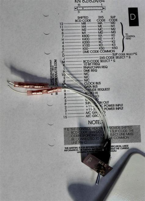 sell    vor king kn dme  tray ka antenna switch wiring diagram motorcycle