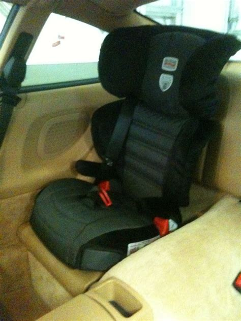 porsche 911 baby seat a bit different child booster seat in 911 pelican parts