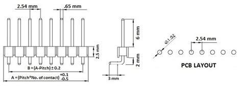 Produk Jumper Wires White Header 4 Pin pololu 0 100 quot 2 54 mm breakaway header 1 215 40 pin