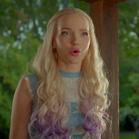 mal hair descendants 2 dove cameron pinterest more dove