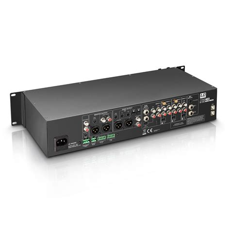 Audio Mixer Necxo Ld 1200m ld systems zone 423 image 940167 audiofanzine