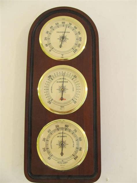 sunbeam weather station barometer thermometer sunbeam