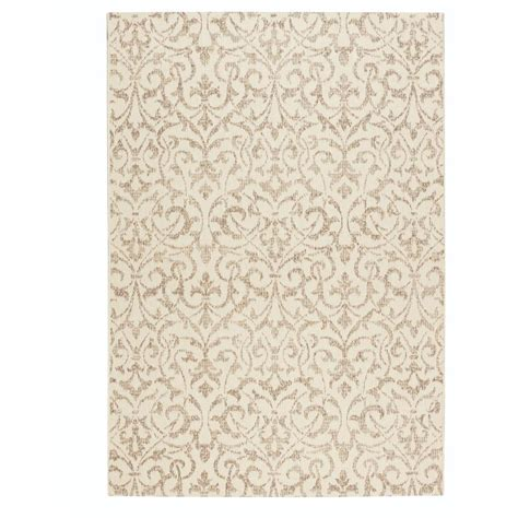 bermuda indoor outdoor rug home decorators collection bermuda chagne taupe 5 ft 3