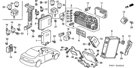 1996 honda civic abs module diagram wiring diagram
