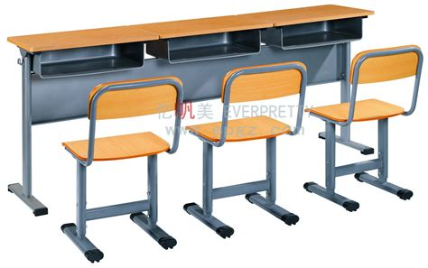 school bench dimensions china popular 3 seater student desk and chair school table