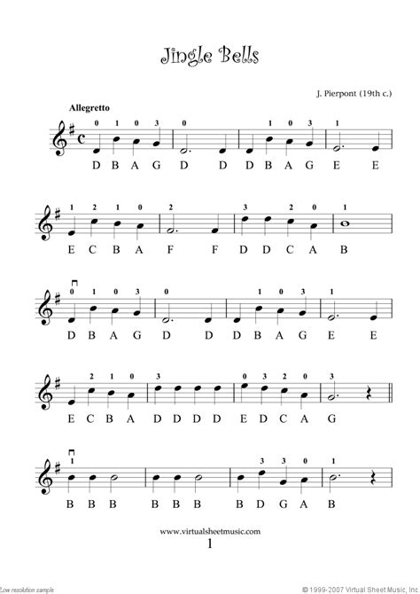 beginning music violin solo christmas sheet music carols very easy for