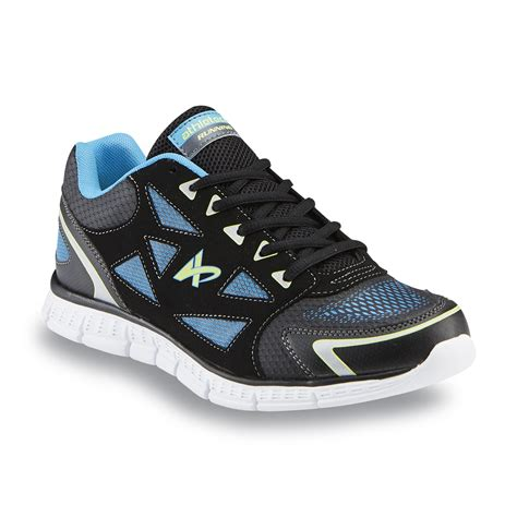 lime green athletic shoes athletech s sprint black neon blue lime green running