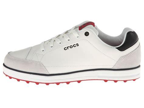croc golf shoes crocs karlson golf shoe m white true shipped free at