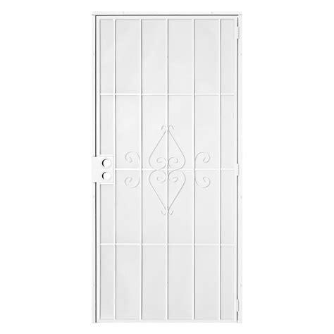unique home designs 72 in x 80 in arcada white surface