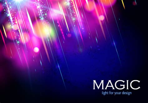 colorful magic colorful magic light shiny background vector 05 vector