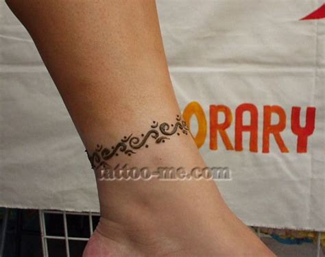 simple ankle henna tattoo 25 best ideas about ankle henna on