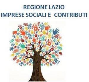 regione lazio sede legale regione lazio imprese sociali e contributi