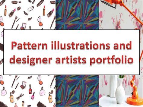 pattern design portfolio pattern illustrations and designer artists portfolio