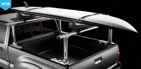 thule truck bed rack new thule 500 xsporter pro multi height aluminum truck rack