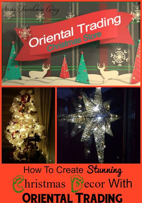 how to create stunning christmas decor with oriental trading