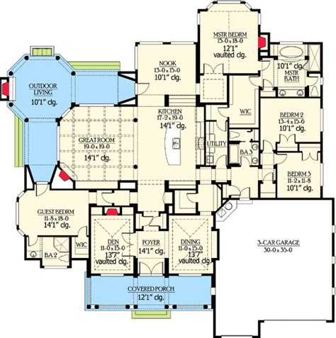 popular floor plans popular rambler with unique floorplan 23224jd