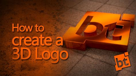how to make logo how to create a 3d logo in blender