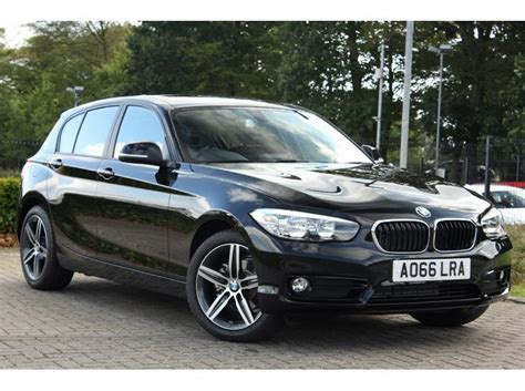 bmw 1 series interior comfort package used bmw 1 series 5 door sports hatch 1 5td 116d sport for