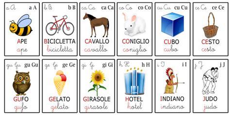 alfabeto italiano completo di lettere straniere alfabeto per bambini giochi e schede didattiche uffolo