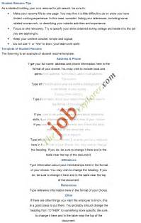 How To Write A Student Resume by Cover Letter Cv Postdoc Platinum Class Limousine