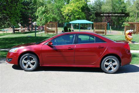 2010 g6 pontiac 2010 pontiac g6 gt sedan 4 door 3 5l
