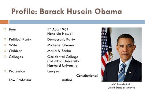 biography of barack obama ppt obama as transformational leader