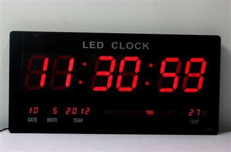 Led Digital china ultrathin big led digital wall clock led display china led clock wall clock