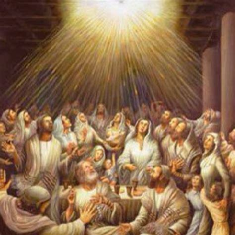 holy spirit fill this room in the room on the day of pentecost the disciples were gathered when suddenly what