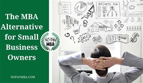 Best Alternative To Mba by No Pay Mba No Pay Mba