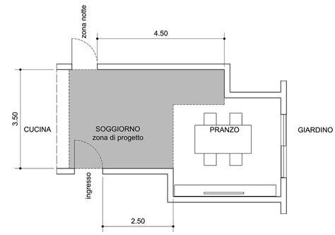 pianta soggiorno come dividere ingresso e soggiorno pianta e prospetto in