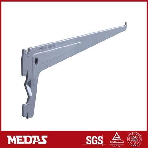 adjustable storage metal shelving brackets single slot